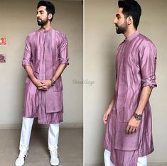 We have inculcated his best looks, for every wedding function. Bookmark ShaadiSaga and get ready with your trending outfit inspiration from Ayushmann Khurrana Wedding Kurta For Men, Wedding Dresses Men Indian, Wedding Dress Men, India Fashion Men, Indian Men Fashion, Fashion Suits, Gents Kurta Design, Boys Kurta Design, Mens Indian Wear