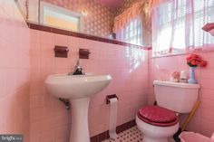 1225 E Johnson St, Philadelphia, PA 19138 | MLS #PAPH925354 | Zillow Mount Airy, Retro Bathrooms, Chestnut Hill, Half Baths, Philadelphia Pa, Queen Size Bedding, Bay Window, Hardwood Floors, Toilet