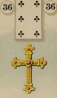 Lenormand  36 - Cross