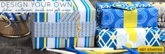 Design, print and sell your own fabric, wallpaper, decals and gift wrap
