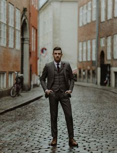Romantic, Rainy Elopement in Copenhagen: Kate + Danny | Green Wedding Shoes Wedding Blog | Wedding Trends for Stylish + Creative Brides