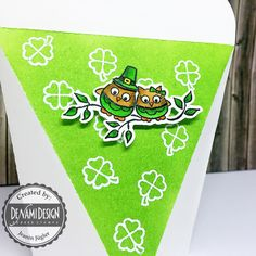 Hello DeNami Friends!     Today  I want to share with you these self-closing boxes that I decorated in a  St. Patricks Day theme. For my p...