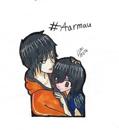 My friend has turned me into a Aarmau shipper. Aarmau Fanart, Aphmau And Aaron, Mini Games, I Love Anime, Miraculous Ladybug, Youtube Minecraft, Fan Art, Deviantart, 4 Life