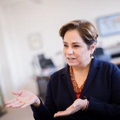 UN Executive Secretary of the UNFCCC Patricia Espinosa Cantellano at her office in Bonn, Germany