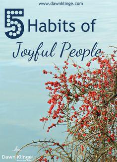 Trusting Jesus leads to joy.