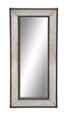 Metal Wall Mirror With Thick And Broad Frame