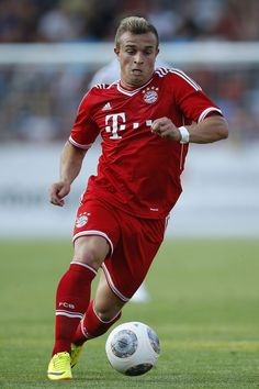 ~ Xherdan Shaqiri on FC Bayern Munich ~