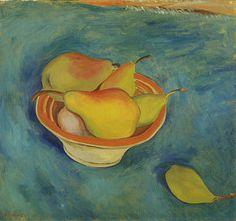 Walter Ophey: Birnen-Stillleben. Um 1924