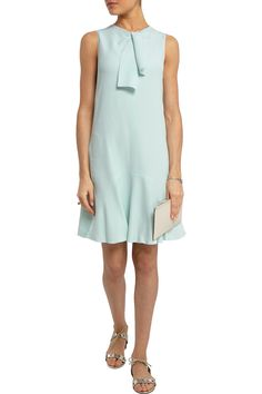 Chloé Crepe mini dress #THEOUTNET