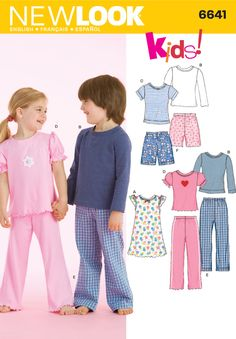 Simplicity : 6641 - pajamas/loungewear - shirts & shorts could be worn day to day