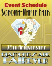 Sonoma-Marin Fair Schedule and Map