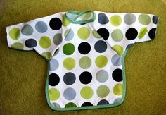 Free Baby Projects: Bib - Long Sleeved Tutorial & Pattern