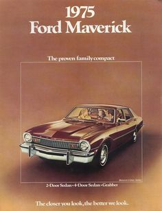 1975 Ford Maverick. Find parts for this classic beauty at http://restorationpartssource.com/store/