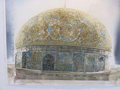 GALLERI – Sandgrund Lars Lerin Watercolor Architecture, Watercolor Artists, Watercolour Art, Modern Masters, Light Art, Life Is Beautiful, Photo Art, Taj Mahal, Illustration Art