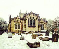 Snow, St.Oswald's, Methley