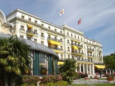 The Beau-Rivage Lausanne Palace in Switzerland, one of my all time favorite hotel & spas.