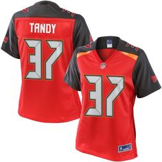 Women's Tampa Bay Buccaneers Keith Tandy NFL Pro Line Team Color Jersey