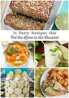 Sweet, creamy coconut and tart lime come together perfectly in these 15 Tasty Recipes that Put the Lime in the Coconut.