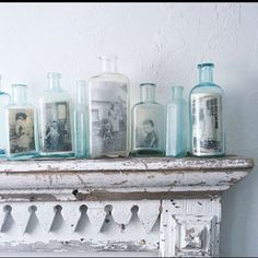 Living with Family Heirlooms - inspiration for displaying family treasures - genearistry