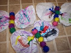 Caterpillar to Butterfly Craft