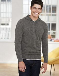 #Boden Cashmere Hoody Grey Men Boden, Grey 40015780 #Raise your weekend style game with our next-level hoody in 100% cashmere. Weve cut the soft, luxurious fabric into a sleek and sporty modern design thats smart enough to wear with an unstructured blazer. Weve kept one thing casual though: just pop it in the machine to wash.