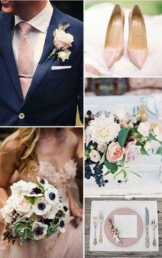 Inspirujące kolory przewodnie na Wasz ślub!