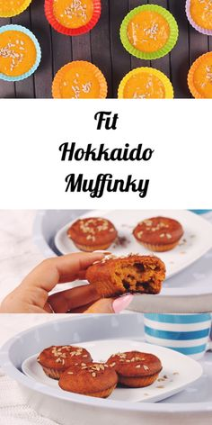 Fit autumn hokkaido muffins