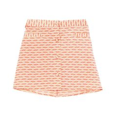 Jupe Oxalis corail et beige - Little Paul & Joe | Brandalley