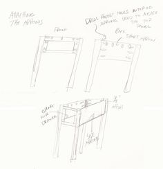 Simple to build end table with bottom shelf and drawer to hold your remotes. Woodworking End Table, Wood Patterns, Aprons, End Tables, Remote, Drawers, Legs, How To Plan, Mesas