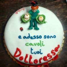 """""""Cavoli tuoi"""" Cake"""