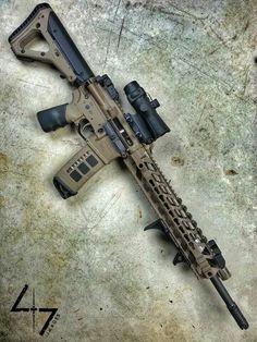 Magpul Weapons Guns, Airsoft Guns, Guns And Ammo, Ar Rifle, Battle Rifle, Tactical Rifles, Shooting Guns, Custom Guns, Military Guns