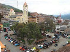 Parque de Belen de Umbría. Risaralda, Colombia.