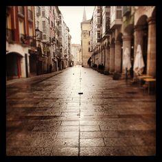 Camino del 'curro' ...dónde está todo el mundo??? #DePaseoPor #Burgos
