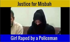 Justice for Misbah – Raped by policeman in Gujranwala