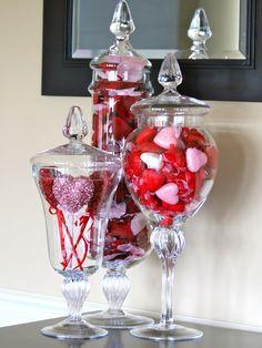 Valentine's Home Decoration, Diy Valentine's Day Decorations, Red Home Decor, Valentines Day Decorations, Valentine Day Crafts, Decor Ideas, Valentine Ideas, Decor Diy, Decor Crafts