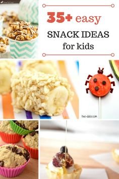 35 snack ideas for k