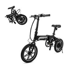 SWAGTRON Swagcycle EB5 Lightweight & Aluminum Folding Ebike with Pedals, Black, 58cm/Medium - EveryoneBMX Electric Bike Review, Electric Cycle, Best Electric Bikes, Folding Electric Bike, Electric Scooter, Electric Motor, Electronic Bike, Bike Deals, E Mtb