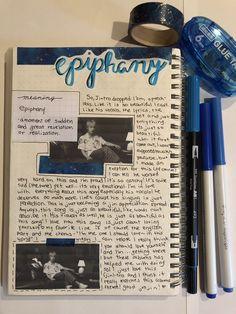 Bullet Journal Aesthetic, Bullet Journal Notes, Bullet Journal 2019, Bullet Journal Ideas Pages, Bullet Journal Inspiration, Art Journal Pages, Kpop, Bts Book, Drawing Journal