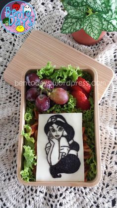Disney Princess Jasmine Bento