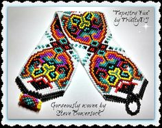 BP-FUN-041 2015  52-Tapestry Fun-Peyote Stitch by TrinityDJ
