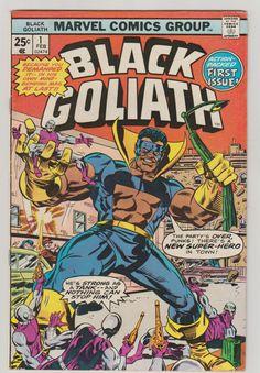 Black Goliath; Vol 1, 1, Bronze Age Comic Book. VF- (7.5). February 1976.  Marvel Comics #blackgoliath #comicsforsale
