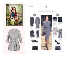 """EKLE' su NATURAL STYLE nella fashion guide """"Speciale Lana"""" di Valentina Pagni Cappotto LIMOUSINE: l'eleganza di colore grigio! #ekle #LatestTrend"""