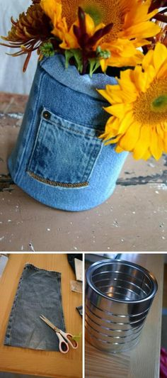 20 Smart DIY Ideas to Repurpose Your Old Jeans - Page 20 of 21