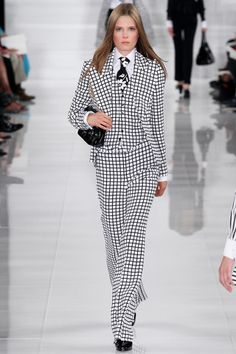 SS '14 - Ralph Lauren / NYFW New York Fashion Week / MBFW Mercedes Benz Fashion Week