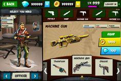 Blitz Brigade UI/UX Design test (Gameloft) on Behance