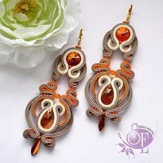 Sutasz kolczyki earrings...pinned by ♥ wootandhammy.com, thoughtful jewelry.