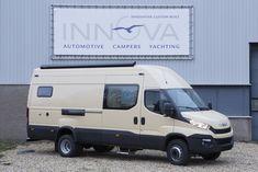 Innova Automotive Campers en Yachting – Iveco Daily – Mobiel Kantoor Op Maat