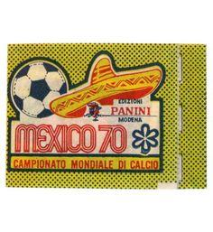 Panini Mexico 70 Doppel-Tüte gefaltet