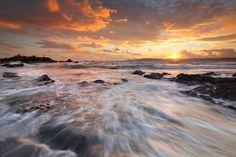 South Hams Sunset, Devon, UK. Wet feet? Yes! But it was well worth it! Twitter: @gking_photo