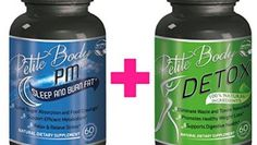 Natural PM Fat Burner & Weight Loss Detox Pills BUNDLE For Women  1 Month Supply  Extra Strong Formula For Rapid Fast Weigh Loss & Fat Burning  Petite Body Premium Dietary Supplements For Women